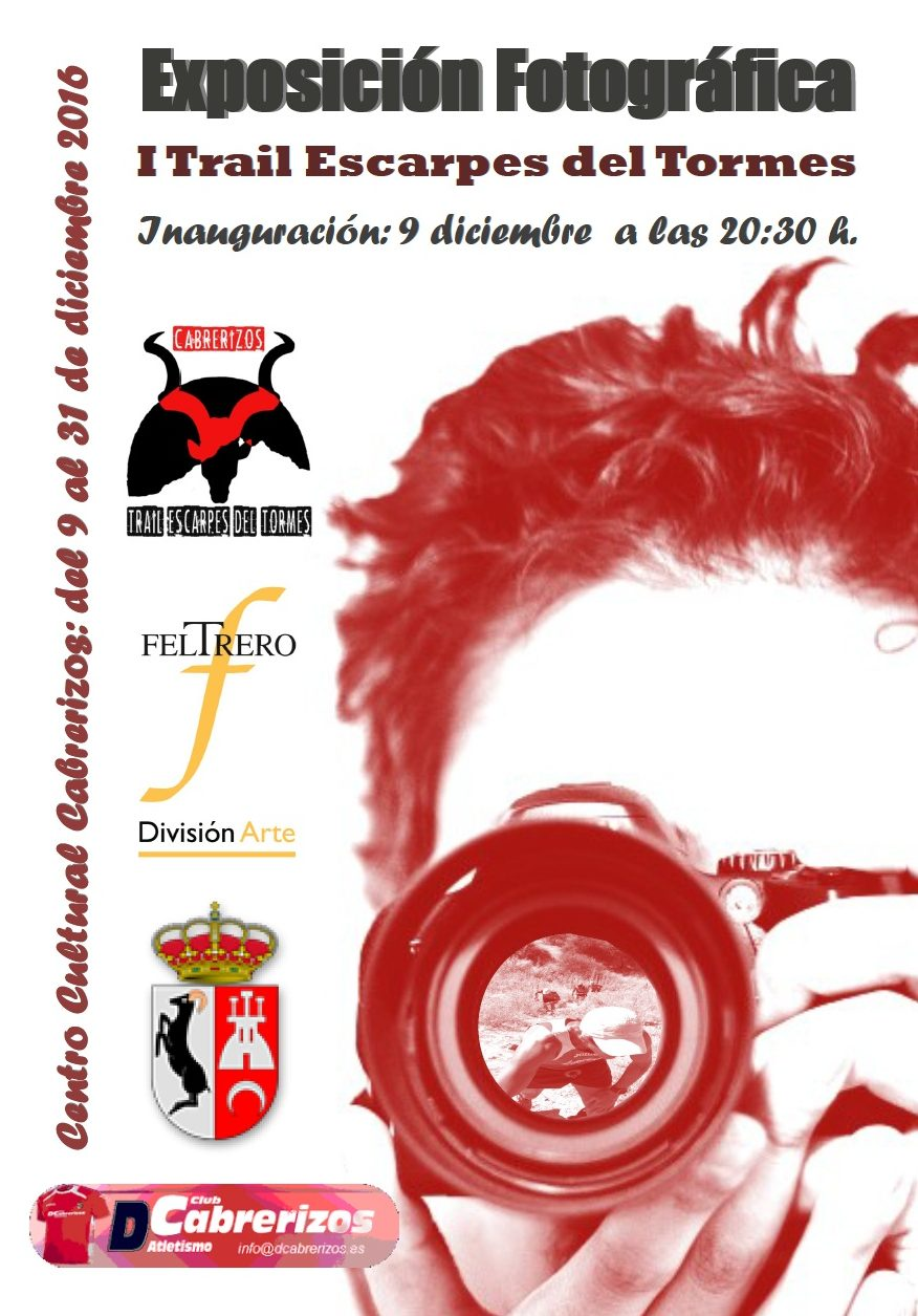 """Exposición fotográfica """"I Trail Escarpes del Tormes"""""""